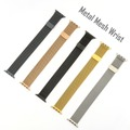 4smarts Metal Mesh Armband für Apple Watch Series 4 (40mm) & 3/2/1 (38mm) gold
