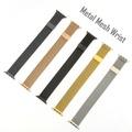 4smarts Metal Mesh Armband für Apple Watch Series 4 (40mm) & 3/2/1 (38mm) rauchgrau