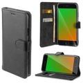 4smarts Premium Flip-Tasche URBAN für Apple iPhone 8 / 7 / 6s / 6 all-black