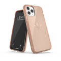 adidas OR Protective Clear Case Big Logo FW19 for iPhone 11 Pro rose gold col.