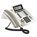 Agfeo ST40, UP0-Systemtelefon, weiß