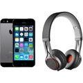 Apple iPhone 5s, 16GB, spacegrau (Telekom) + Jabra REVO WIRELESS, schwarz