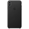 Apple iPhone XS Max Leather Case black