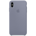 Apple iPhone XS Max Silicone Case lavender gray