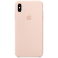 Apple iPhone XS Max Silicone Case pink sand
