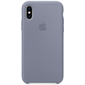 Apple iPhone XS Silicone Case lavender gray
