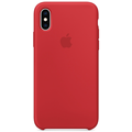 Apple iPhone XS Silicone Case (PRODUCT) RED