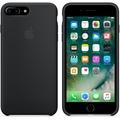 Apple Silicone Case für iPhone 7 Plus - schwarz