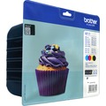 Image of Brother LC123VALBP - BROTHER LC123 VALUE PACK INK CARTRIDGE