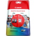 Canon Tintenpatronen Value-Pack PG540XL/CL-541XL schwarz/color - inkl. 50 Blatt Fotopapier 10x15cm