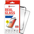 Displex Displex, Real Glass 3D 0,33mm+Hülle, Samsung Galaxy S10, Displayschutzglasfolie