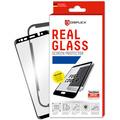 Displex Displex, Real Glass 3D Max 0,33mm + Rahmen, Huawei P30 Lite, Panzerglas Schutzfolie, schwarz