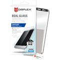 Displex Vollflächiges Displayschutzglas für Galaxy S8+ Schwarz