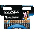 Duracell Batterie Alkaline - Micro - AAA - LR03 - 1.5V Ultra Power - Powercheck - (12-Pack)