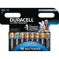 Duracell Batterie Alkaline - Mignon - AA - LR06 - 1.5V Ultra Power - Powercheck - (16-Pack)