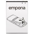 Akku für emporia ELEGANCE V35/V37/V36 fuer