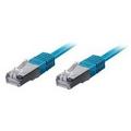 Equip Patchkabel 0,5m blau-2xRJ45 S/STP-C6 250MHz