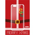 Flavr Cardcase Ugly Xmas Sweater College Santa for iPhone 6/6s colourful