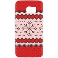Case Ugly Xmas Sweater for Galaxy S7 Edge rot f...