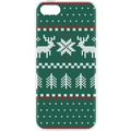 Case Ugly Xmas Sweater for iPhone 5/5S/SE grün ...