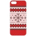 Case Ugly Xmas Sweater for iPhone 5/5S/SE rot f...
