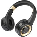Fontastic Bluetooth On-Ear Headphone BOOM, schwarz/ gold