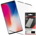 Fontastic Curved Full Cover Schutzglas Schwarz Case Friendly, komp. Samsung Galaxy S10 Plus