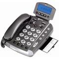 geemarc CL330 Verstärkertelefon mit Hoch-/Tieftonregelung und Sprachansage, anthrazit