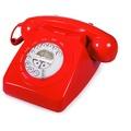 geemarc Mayfair Retrotelefon, rot