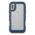 Griffin Survivor Extreme Case, Apple iPhone X, blau/hellblau