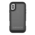 Griffin Survivor Extreme Case, Apple iPhone X, schwarz/transparent