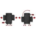 HR Auto-Comfort Smartphone-Halter inkl. Swivel Stop Befestigungssystem für die Lüftung