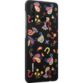 Huawei PC Cover Floral for P30 Lite black