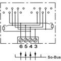 ZE Kom ISDN-Anschlussdose (doppelt) mit schaltbarem Widerstand, Aufputz