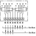 ZE Kom ISDN-Anschlussdose (doppelt, getrennt beschaltbar) mit schaltbarem Widerstand, Unterputz