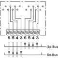 ZE Kom ISDN-Anschlussdose (doppelt, getrennt beschaltbar), Aufputz