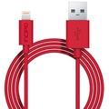 Incipio Lightning Lade- und Datenkabel (1m), rot