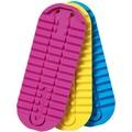Jabra Ersatzsohlen-Set (3 Stück) für Solemate, blau/gelb/pink