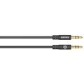 Kanex AUX Stereo Kabel - 3,5mm Klinke - 1.80m - schwarz