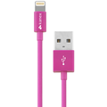 Kanex Charge/Sync-Kabel - Apple Lightning auf USB-A - 1.20m - pink