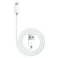 Kanex Charge/Sync-Kabel - Apple Lightning auf USB-A - 1.20m - weiß