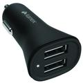 Kanex Dual-USB KFZ-Ladegerät V2 - 1,0A & 2,4A - schwarz