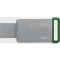Kingston Data Traveler 50, USB 3.0, 16GB, Metal Grün