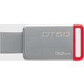 Kingston Data Traveler 50, USB 3.0, 32GB, Metal Rot