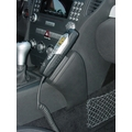 Kuda Lederkonsole für Mercedes-Benz SLK / R171 ab 03/04 Echtleder schwarz