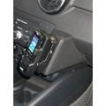 Kuda Lederkonsole für Audi A1 ab 2010 Mobilia / Kunstleder schwarz