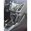 Kuda Lederkonsole für Ford Focus ab 03/2011 & ab 2014 Echtleder schwarz