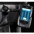 Kuda Lederkonsole für Ford Focus ab 11/04 u. 04/07 bis 02/11 Mobilia / Kunstleder schwarz