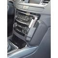 Kuda Lederkonsole für Peugeot 508 ab 03/2011 Mobilia / kunstleder schwarz