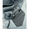 Kuda Lederkonsole für Renault Laguna ab 94 bis 2/01 Echtleder <silbergrau> (9073)